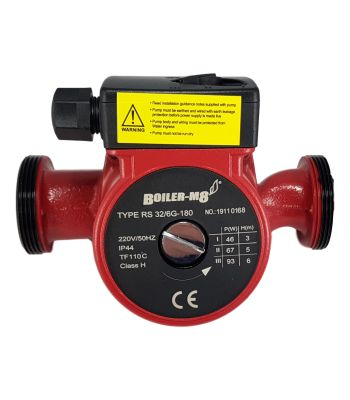 Boiler-m8 RS32/6G 180mm B Rated Circulating Pump